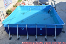 metal frame above ground pools PVC swimming pool prices
