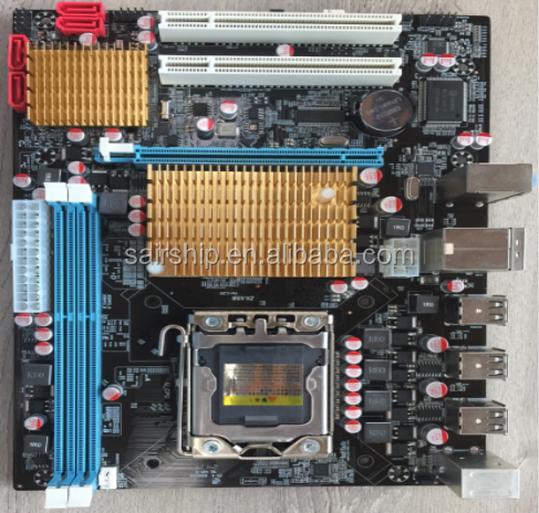 OEM cheapest Intel X58 motherboard lga 1366 ddr3 1333MHz