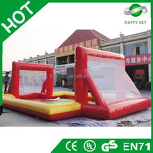 2015 hot sales indoor football field for sale,football goal,inflatable soccer field