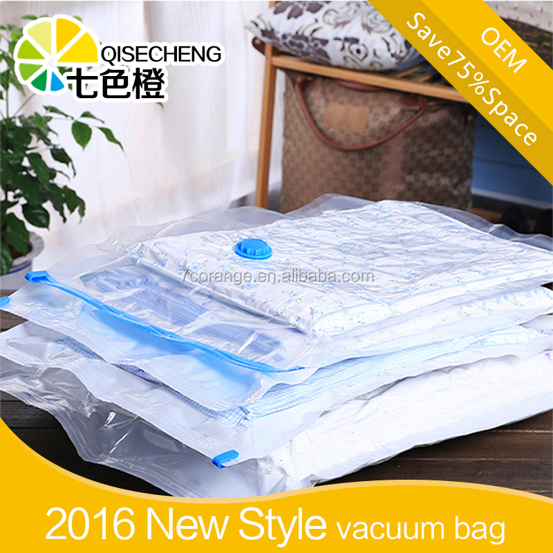 Customer printed vacuum space bag as seen on TV