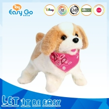 Best Selling New Style Cute Animal Stuffed Dog Plush Toy with Scarf