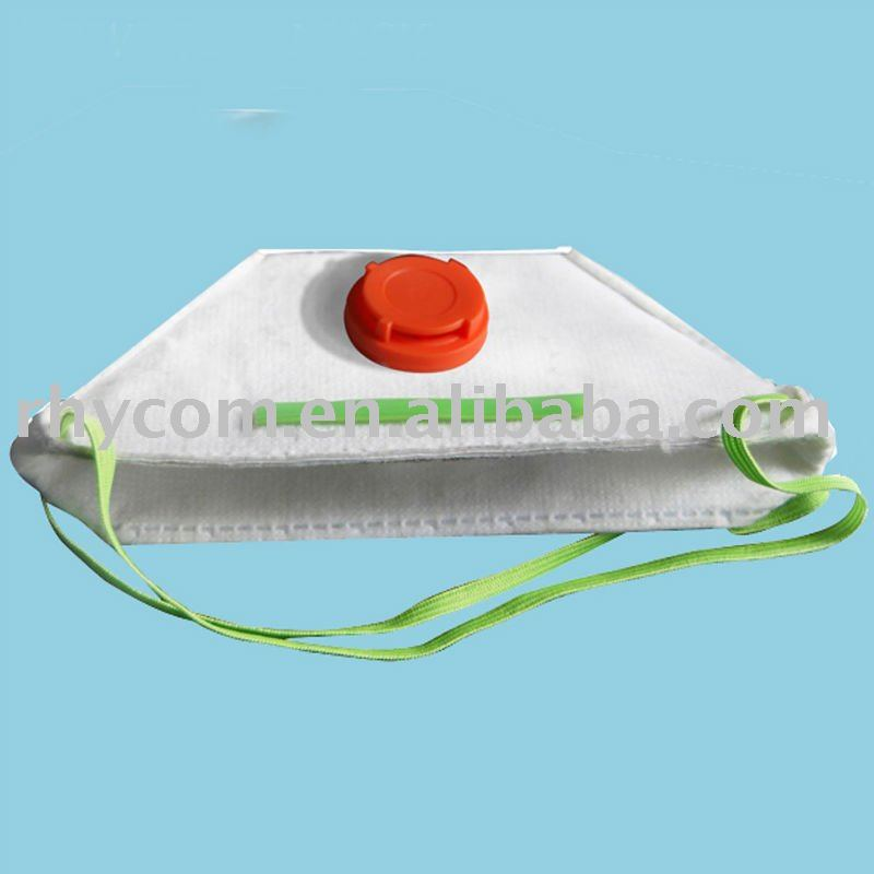 Disposable non woven dust mask,with duckbill shape