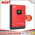 PV1800 series pure sine wave 60A MPPT controller solar energy inverter 3kva 2400w with WIFI/ USB