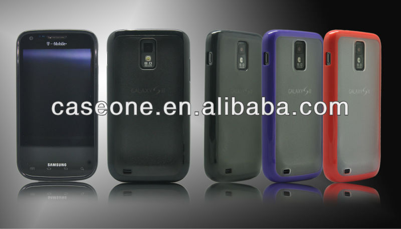 2 in 1 Hybrid(TPU+PC) Case for Samsung Galaxy S II (T989)
