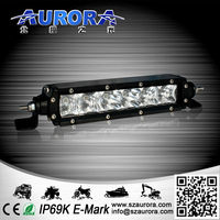 high power unique design 6inch 30W single row led light bar off road 4x4 go karts