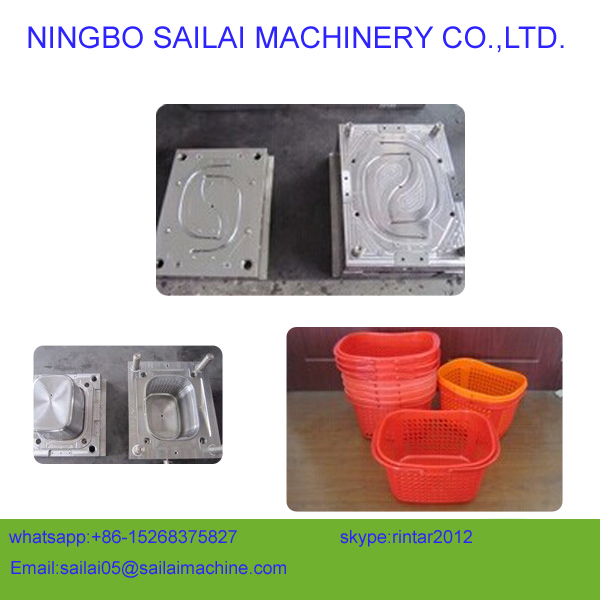 custom-made plastic laundry basket moulds