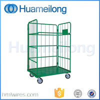 Travel folding secuiry luggage cage cart container