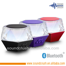 Soundcrush BT colorful LED speaker birthday gifts for guests