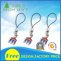 Wholesale unique design custom metal tooth pendant nickel plated dental souvenir keychains