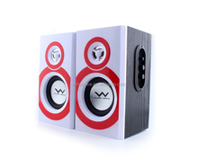 2018 New 40W Powered Wooden Box Bluetooth Home Theater Speaker System , 2.0 Multimedia Speaker