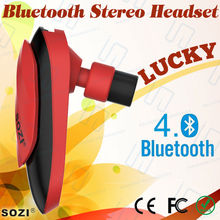 bluetooth 4.0 headset , with mic and volume control for iPhone/HTC/Windows 8/Anroid System...