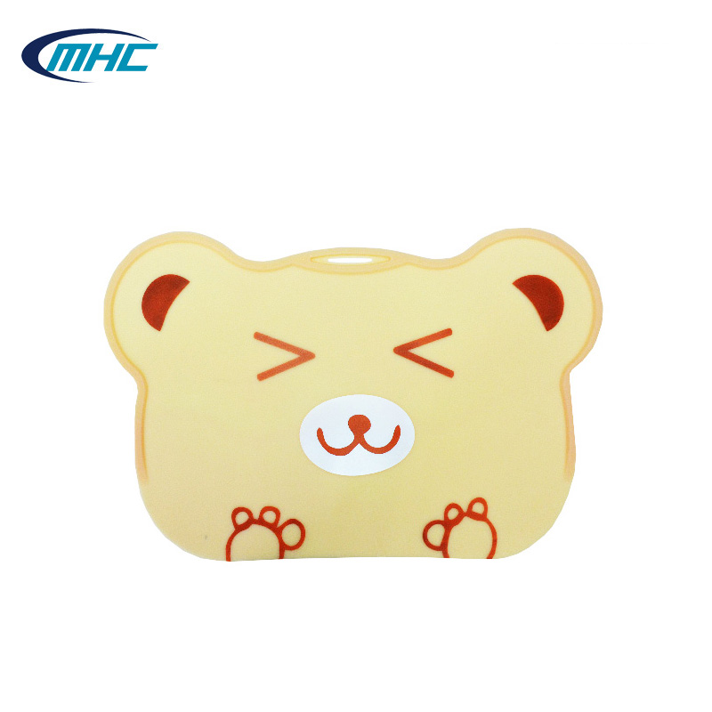 Eco-friendly Bear shaped Silicone Mat for Kids