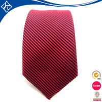 black suit red work silk tie 7cm for man