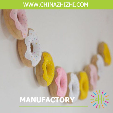 Donut craft Baby Shower Party Garland decorations