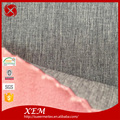 Knitted Yarn Dyed Recycled Polyester rayon spandex fabric recycled polyester suede fabric