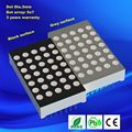 5*7 green led dot matrix 5x7 dot matrix led display