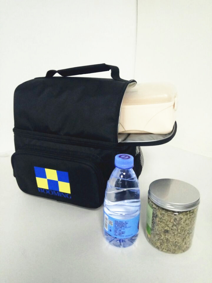 Adult Lunch Insulated Large Men, Women, Double Deck Cooler Lunch Bag