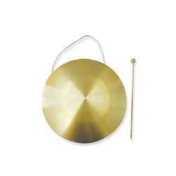 chinese copper Gong for sale musical instrument percussion baby toys