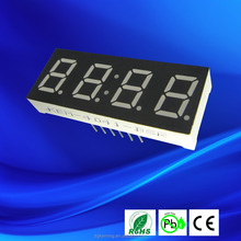 "led display 0.4"" four digit seven segment led display red color"