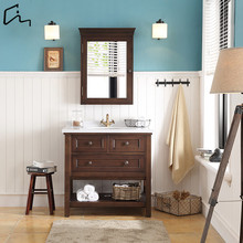 spanish tona knock down solid wooden bathroom vanity cabinet furniture