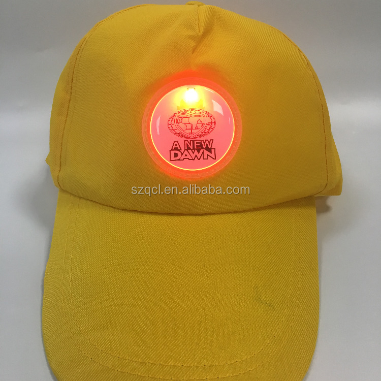 Newest Sports Caps LED Lighting Caps Flashing Hats Best Corporation Giveaways