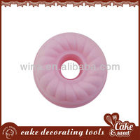 cheap silicone donut and cake mold