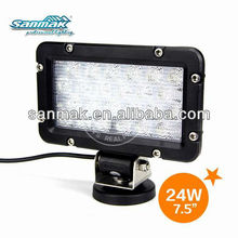 24W epistar led extra driving light SM6245 for fire engine lamp