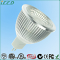 Warm White GU5.3 Downlight Lamp 5W COB Aluminum Alloy MR16 Dimmable LED Bulbs