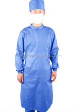 Hospital full cotton doctor nurses surgical clothing isolation clothing resistant to high bleaching