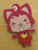 cute cartoon character shape buttons for scrapbooking