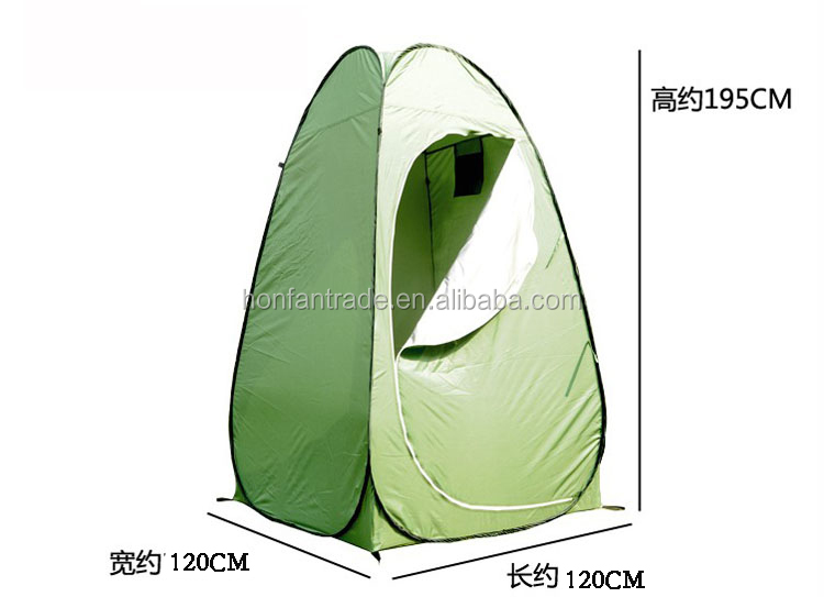 Outdoor Waterproof Clothes Change WC Shower Toilet tent 120*120*195CM