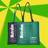 Popular Resuable promotional long handle non-woven bag