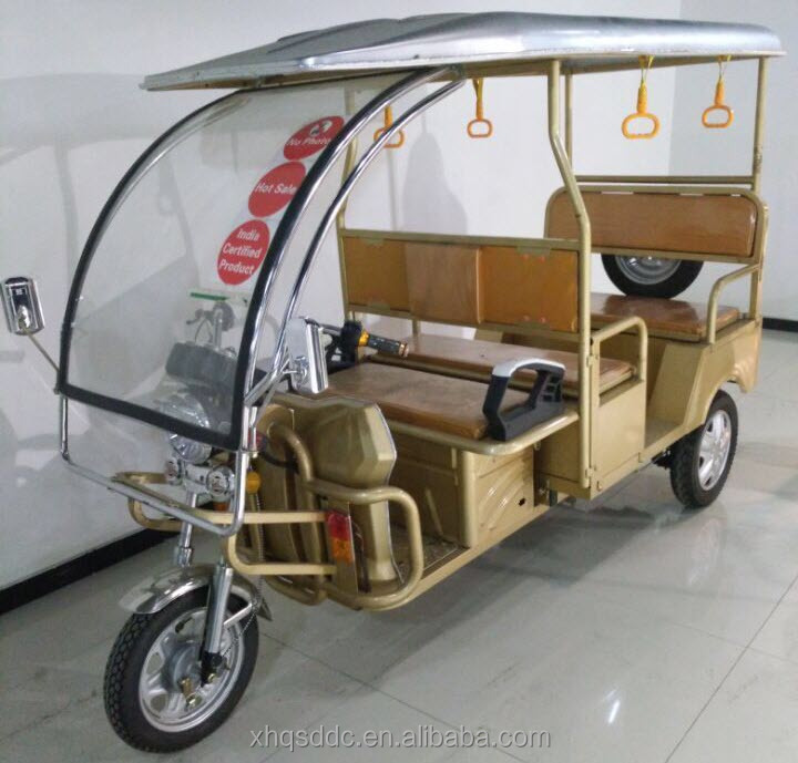 2016 newest QS-D China electric rickshaw price for indan market