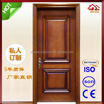 Interior New Design French Wood Entry Door