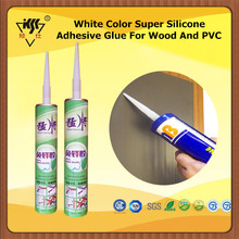 White Color Super Silicone Adhesive Glue For Wood And PVC