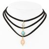 Tryme New 3 ColorsTurquoise Chokers Necklaces