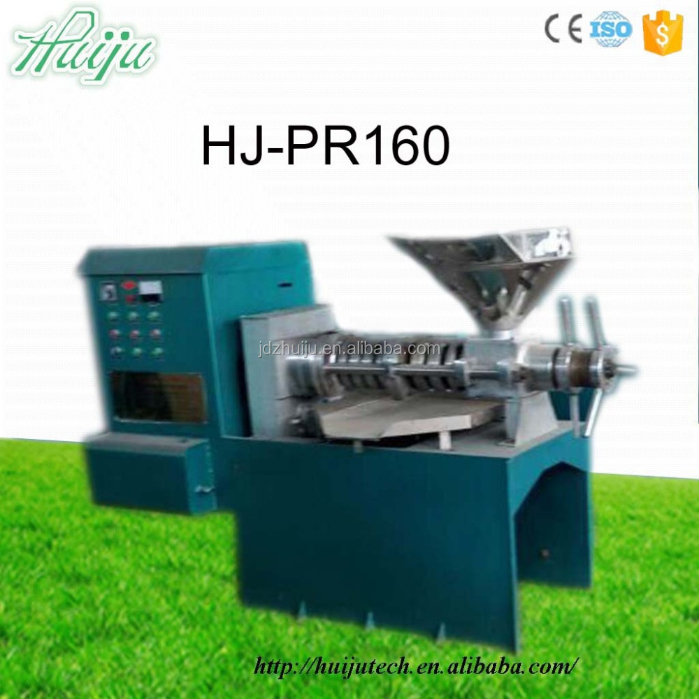 HJ-PR160 High quality process 800-1000kg/hour nuts/seeds/grain oil press machine