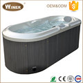 Outdoor Indoor Musical acrylic portable 2 person hot tub sex massage balboa spa bath prices with LED light