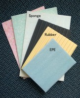 Fireproof floor underlay carpet, waterproof 10mm rubber/ sponge carpet underlay