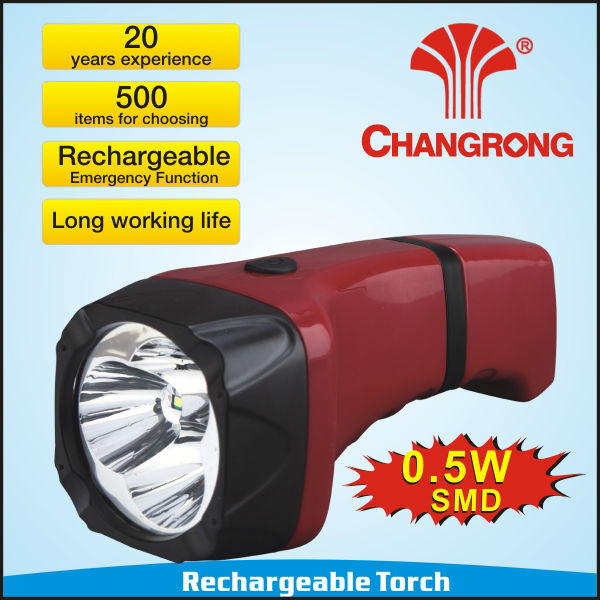 Charger Emergency Portable Led Torch light