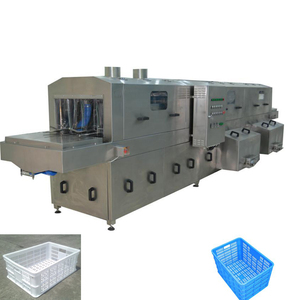 Customized Automatic Turnover Crate/Basket/Pallet/Tray Washing Machine