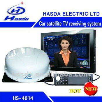 Car SatelliteTV receiving system HS-4014