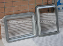Customized Fabrication aluminium frame sliding glass window