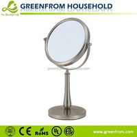 Double sides magnifying beveled edge mirrors picture frames