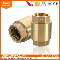 America NPT brass check valve 1 2 inch pn16 with CE certificate