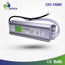 High efficiency 150w 5v 12v 24v 48v waterproof power waterproof electronic led driver 120w 100w IP67 ac dc power supply