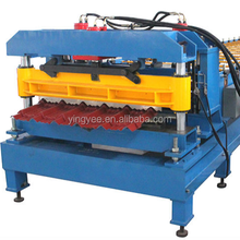 high quality Automatic Control Metal Roof Sheet Glazed Tile Stamping Roll Forming Machine