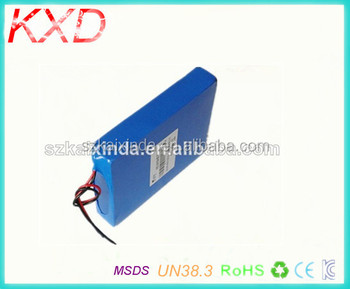 shenzhen rechargeable 14.8v 12000mah lipo battery 4s