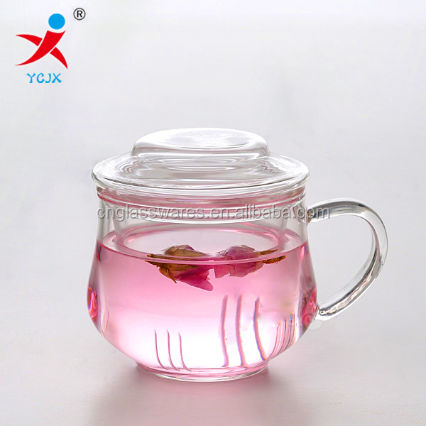 double wall borosilicate glass teapot with infuser