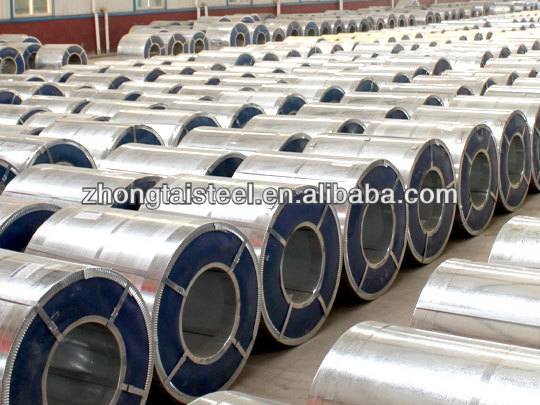 PPGI/PPGL prepainted color coated galvalum steel coil RAL5020